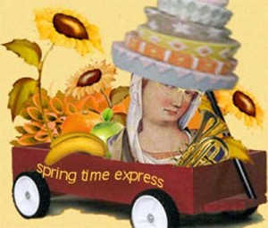 Hop on the Spring Time Express ~ contact Janice Taylor, Weight Loss Success Coach, Hypnotherapist, Author, Artist, Positarian