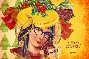 Simple Holiday Happiness from Janice Taylor, Weight Loss Coach, Hypnotherapist, Author, Artist, Positarian