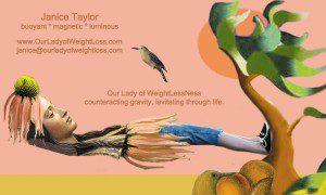 Levitate Through Life With Me ~ Janice Taylor, Anti-Gravity Coach, Positarian, Artist, Author