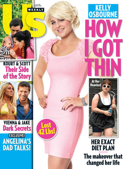 Kelly Osbourne: How I Got Thin (preview of US Weekly) - Our Lady of Weight  Loss