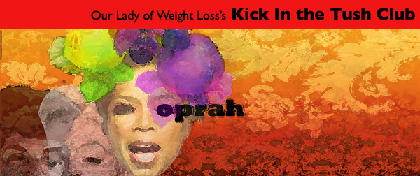 Oprah from the Our Lady of Weight Loss Weight Loss Art Gallery