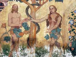 Adam, Eve, and the Snake