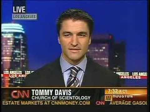 Tommy Davis on CNN claiming no such church policy exists