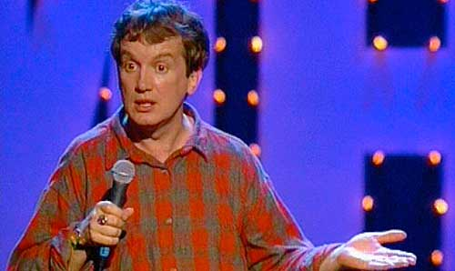 British stand-up comic and talk-show host Frank Skinner has never been ...