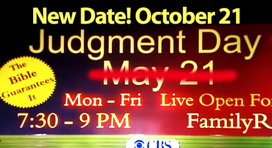 The world will end October 21, says Harold Camping … but no ...