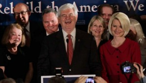 Gingrich, South Carolina primary, victory speech, 2012 presidential election