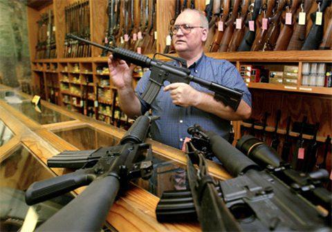 Stocking Up On Guns