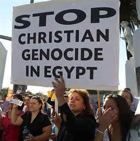 Coptic Christians plead for help.