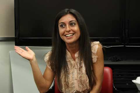 Producer Nicole Abisinio