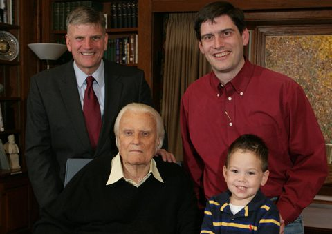 Four generations of Grahams