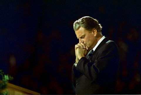 Billy Graham in the 1980s