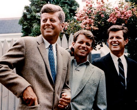 John, Robert and Edward Kennedy