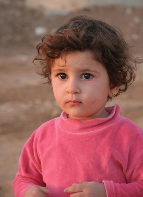 One of the youngest Iraqi Christians faces an uncertain future (photo courtesy Open Doors International)