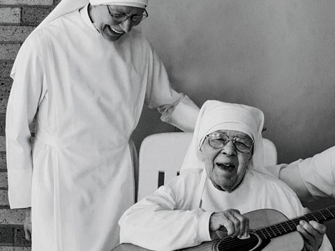 Many of the Little Sisters are as old as their patients.
