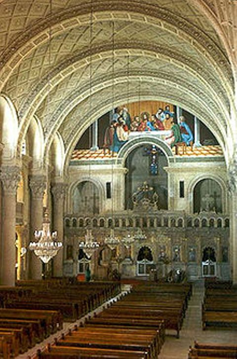 Kuwait's Holy Family Cathedral (Wikimedia photo)