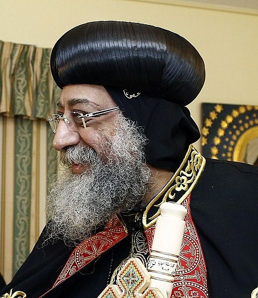Pope Tawadros II of Alexandria (Wikimedia photo)