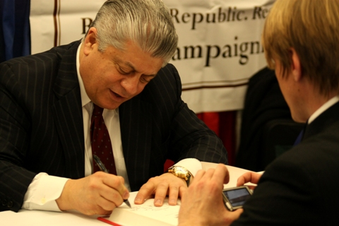 Andrew Napolitano (Photo by Gage Skidmore/Flickr)