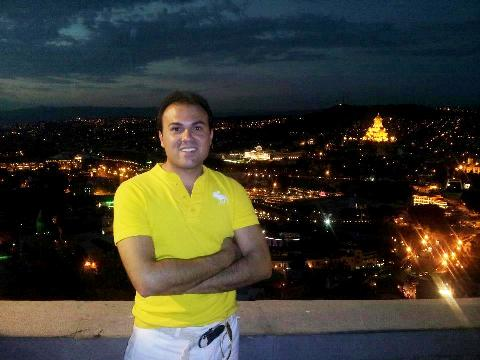 Pastor Saeed in Tehran (family photo)