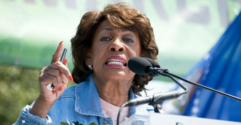 Maxine Waters Claims in Church Sermon That She Was Sent by God to