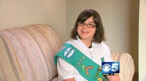 11 Year Old Gillian Purdue From Phoenix Arizona Saves a Baby Girl From Drowning