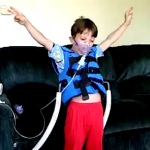 Watch Dylan dance while undergoing Cystic Fibrosis Treatment