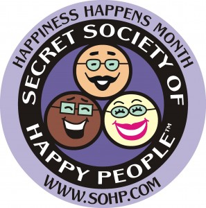 happiness happens month, society of happy people,