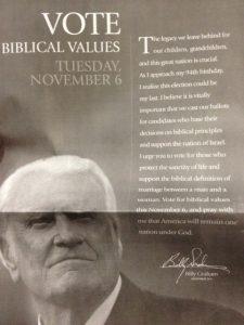 Billy Graham can still say it.