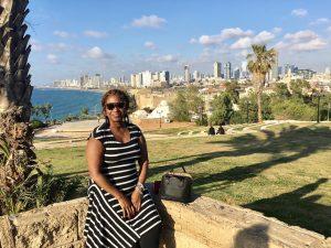 In sunny Tel Aviv!