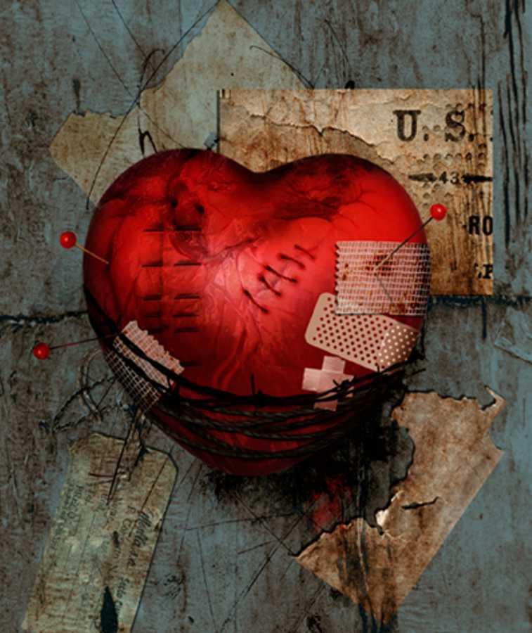 рваное сердце картинки сожалению, увидите
