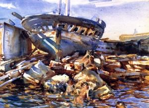 John Singer Sargent, Flotsam & Jetsam