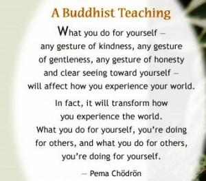 buddhist saying