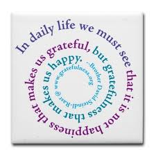 gratitude spiral