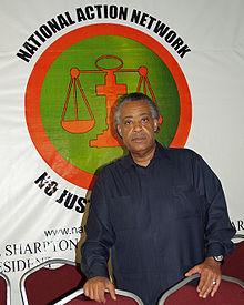 Al Sharpton, Activist and Agitator at National Action Network's Headquarters,