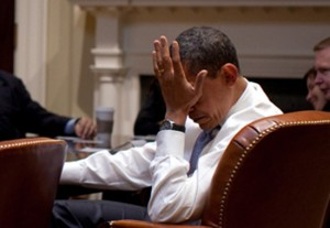 Obama Sad Facepalm