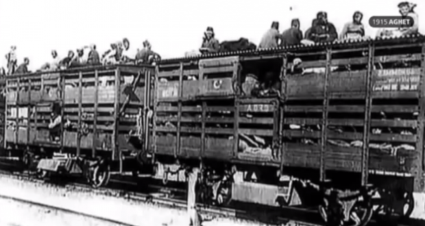 Like the Nazis, many Armenians were also transported via rail. And, also like the Nazis, the Turks forced their victims to purchase tickets for the ride to their own extermination.