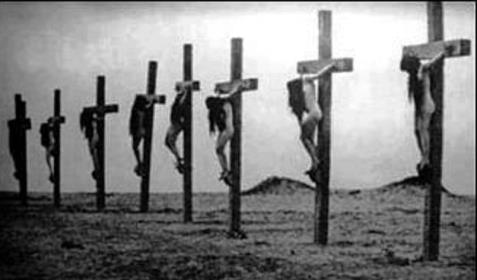 Crucifixion of Christian Women in Armenian Genocide