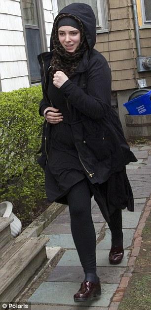Katherine Russell, the American wife of marathon bomber Tamerlan Tsarnaev