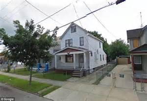 2207 Seymour Avenue, Cleveland, Ohio.  The house where three women and children were found today!