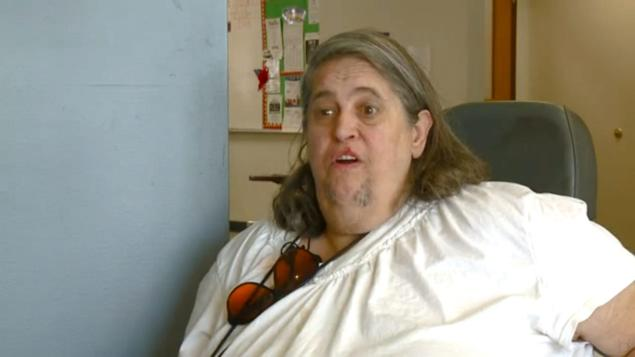 Michelle Knight's grandmother spoke from her wheelchair on how happy she is to hear her granddaughter is alive.