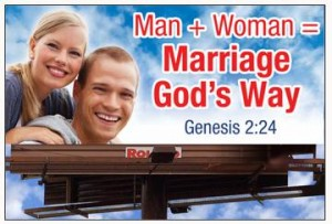 Man plus Woman equals Marriage God's Way