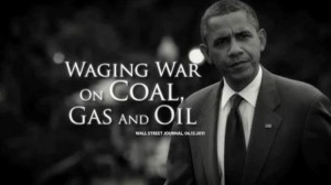 Obama waging war on coal, gas and oil