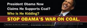 War on Coal Billboar