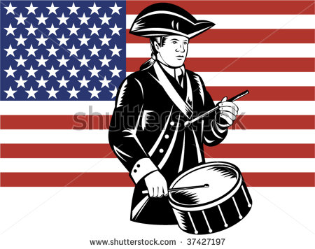 american-patriot-drummer-with-flag