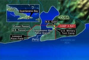 GITMO Location on Cuba