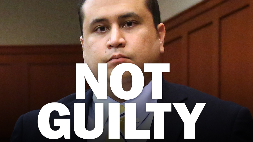 George Zimmerman found not guilty of murdering Trayvon Martin after almost two days of deliberations by a jury of six women including one black woman who believed that Zimmerman was fearful of being murdered by Trayvon Martin and was justified in shooting him.