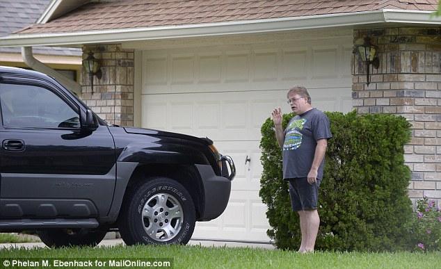 Zimmerman rescured family in fear Mark & Dana Michelle Gerstle & 2 children3