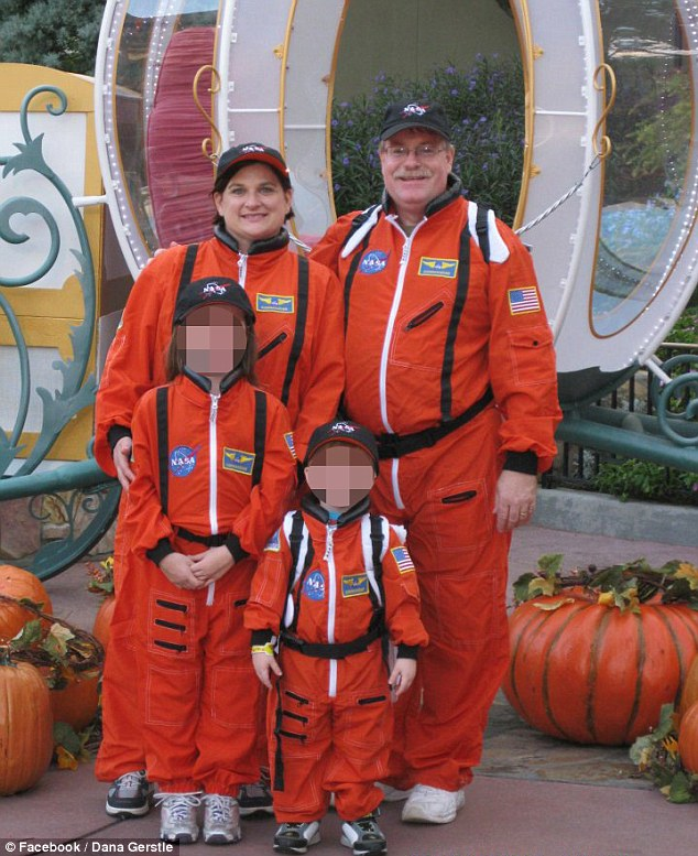 Zimmerman rescured family in fear Mark & Dana Michelle Gerstle & 2 children5