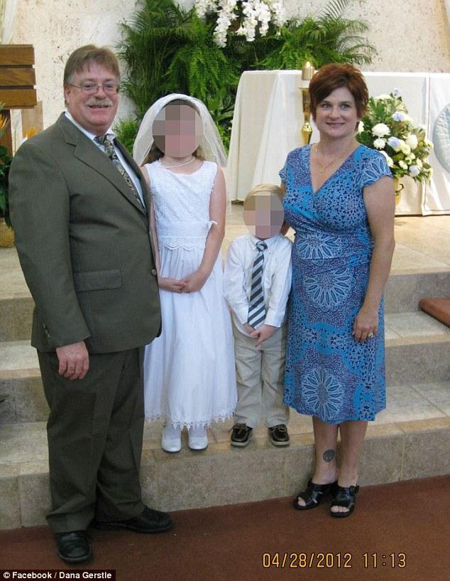 Zimmerman rescured family in fear Mark & Dana Michelle Gerstle & 2 children9