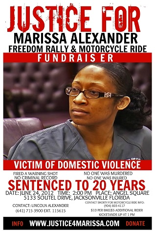 marissa-alexander - justice for her, victim of domestic violence shot at wall to scare abusive husband