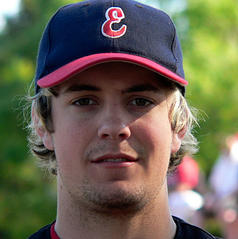Australian Christopher Lane can be seen in this photo dated October 14, 2007 provided by Essendon Baseball Club on August 21, 2013